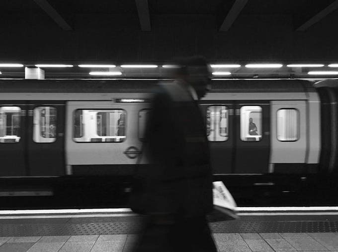 STRANGER: Street Photography Shot in the London Tube Made Into a Photo Book