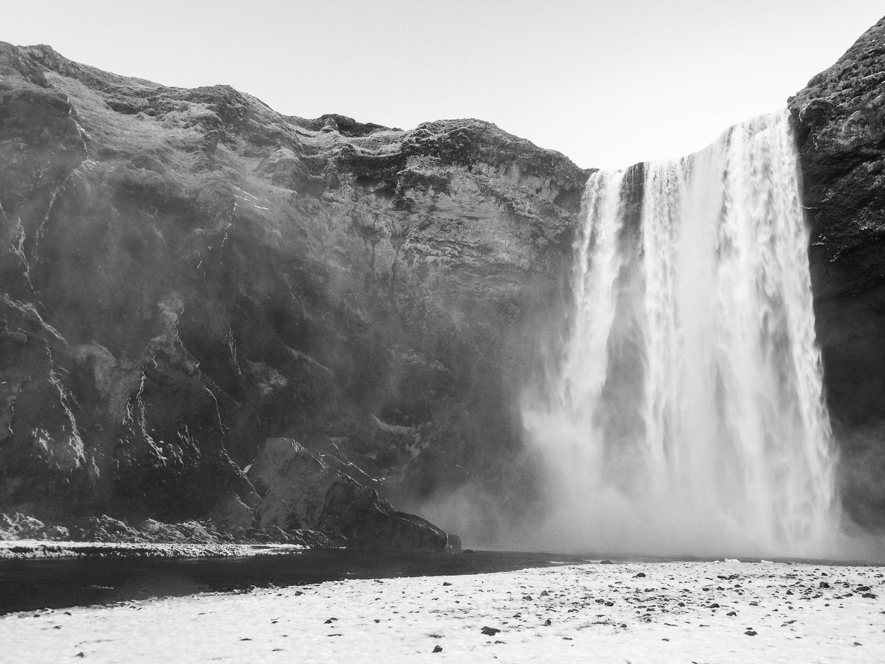 Maciej Kalkosinski on Photographing Iceland's Landscapes in Black and White