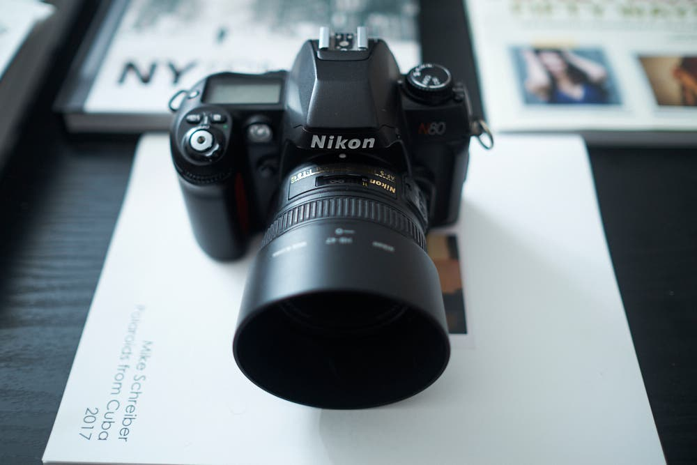 Vintage Camera Review: Nikon N80 (Nikon F Mount)