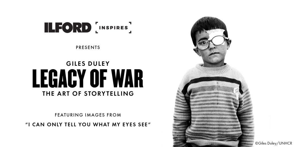 Giles Duley Talks About Documenting the World's Problems on Ilford Film