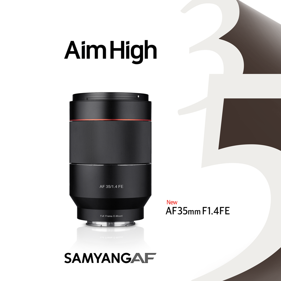 There's a New Autofocusing Samyang 35mm f1.4 FE Lens for Sony a7 and a9 Cameras