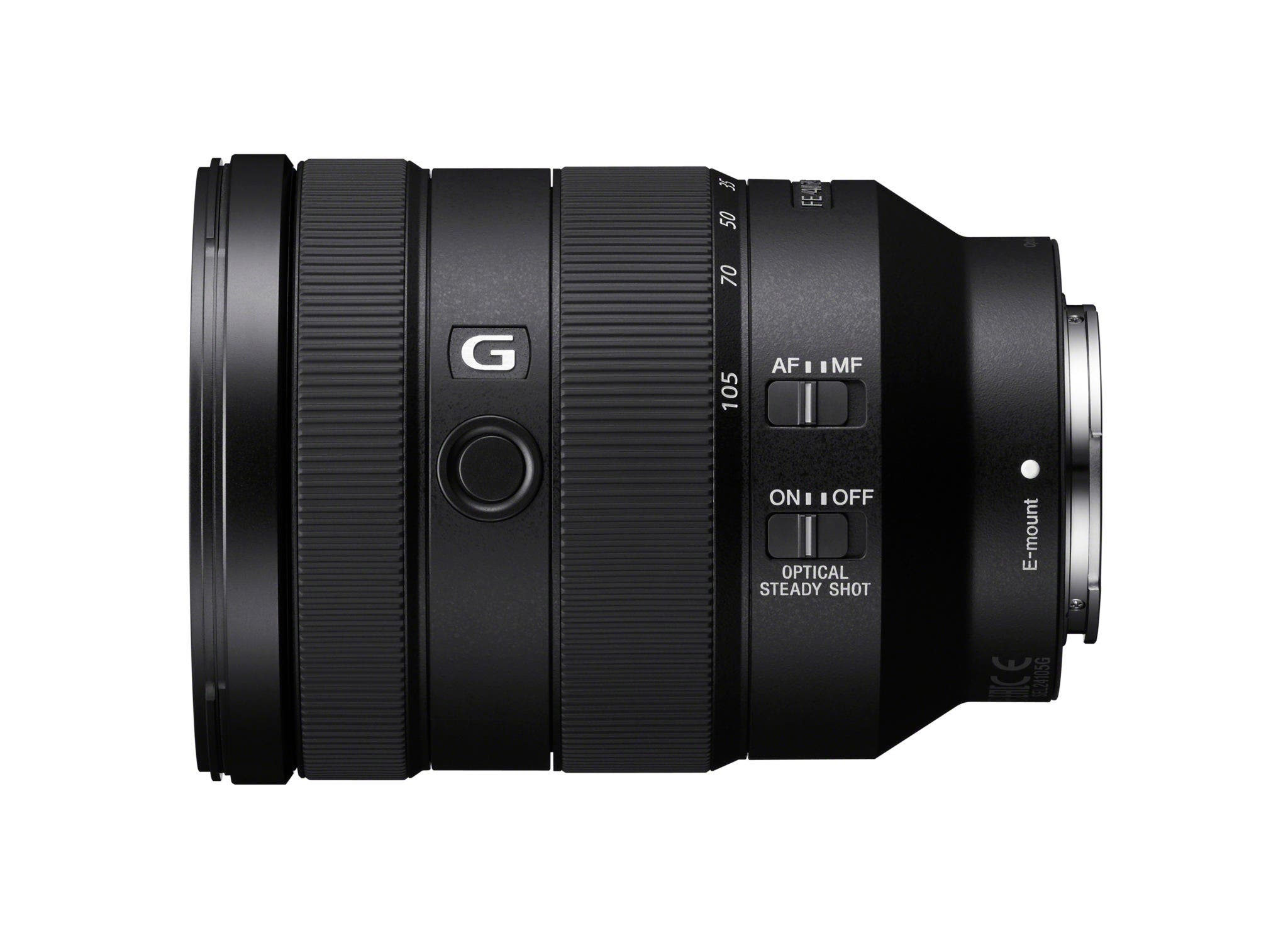 The Sony 24-105mm F4 G OSS FE Lens is the Smallest in its Class
