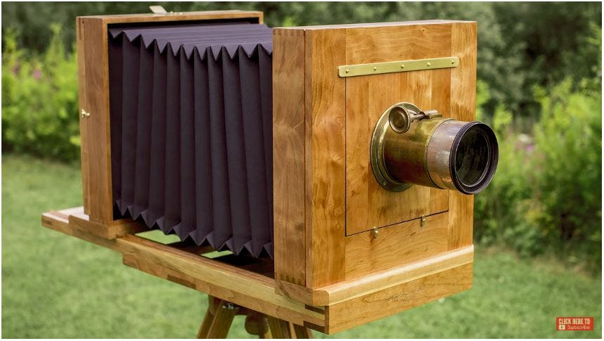 Watch How Handcrafted Wooden Wet Plate Cameras are Made