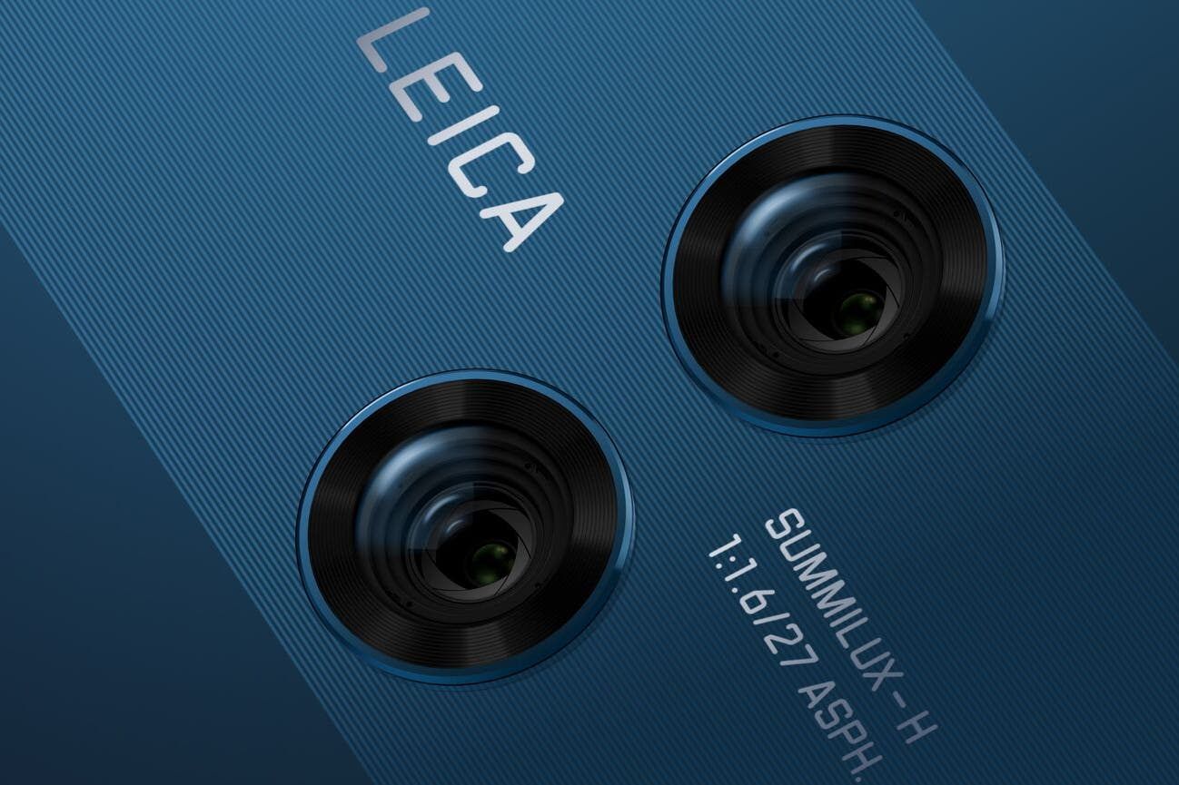 HUAWEI Mate 10 and Mate 10 Pro Feature Dual Leica Lenses With F1.6 Aperture