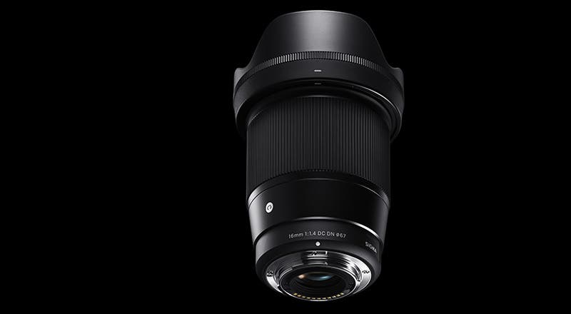 The Sigma 16mm f1.4 DC DC Contemporary Lens Boasts Weather Sealing