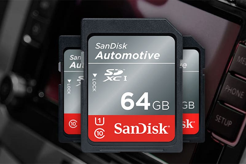 SanDisk's New Industrial and Automotive SD Cards Can Work at -40° C
