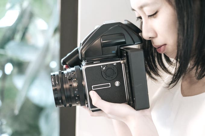 The Rezivot Instant Film Processor Lets Your Medium Format Film SLR Camera Shoot Instax Film