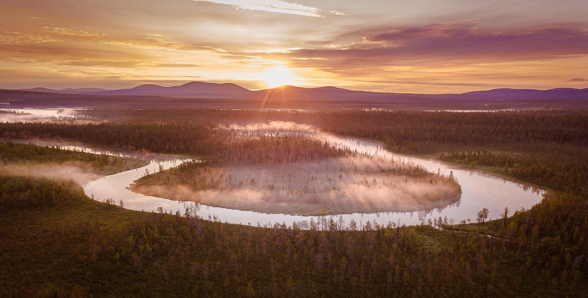 Antti Pietikäinen Takes us to the Misty Forests of Lapland Via Drone