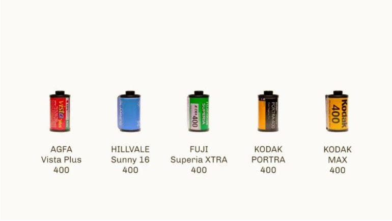 A Quick Comparison Of Todays Favorite Iso 400 Color Films