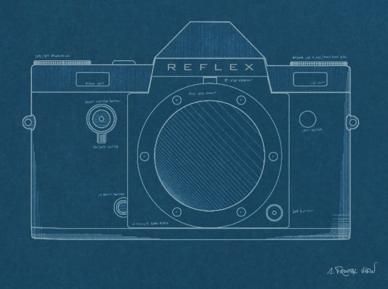 The Reflex Manual Film SLR Will Hit Kickstarter Soon