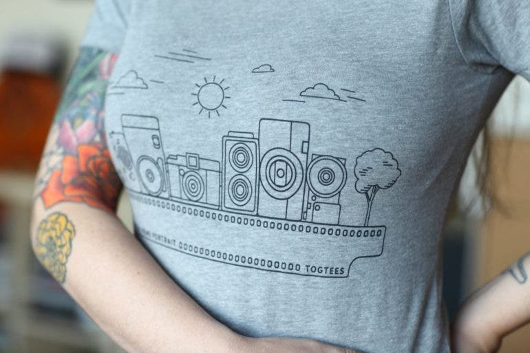9252e13cf9 To complement the minimalist and mostly vintage-inspired designs, the tees  come in vintage-textured shirt fabric and in classic colors.