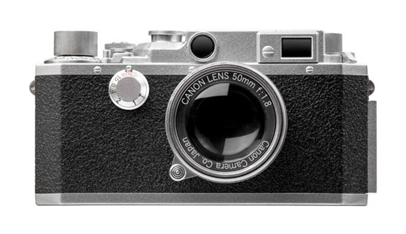 This Canon USB Stick Looks Like A Miniature Canon IV Rangefinder
