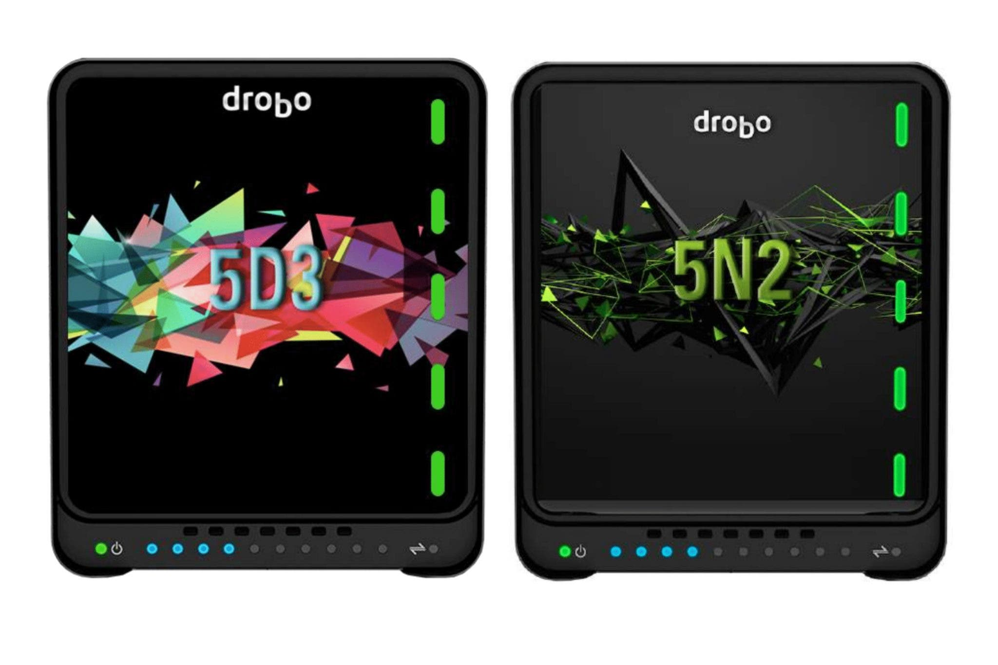 Drobo Announces New 5D3 and 5N2 Gold and Platinum Editions