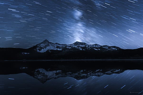 "Toby Harriman Paints the Serene Beauty of the Night in ""Mono-Tone"""