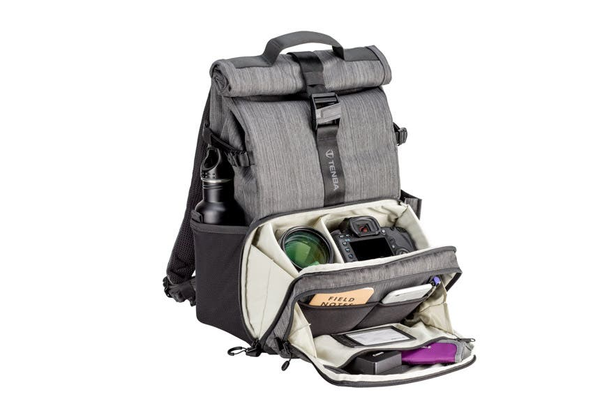Tenba's New DNA 15 Backpack Will Hold your Camera And Up To 6 Lenses