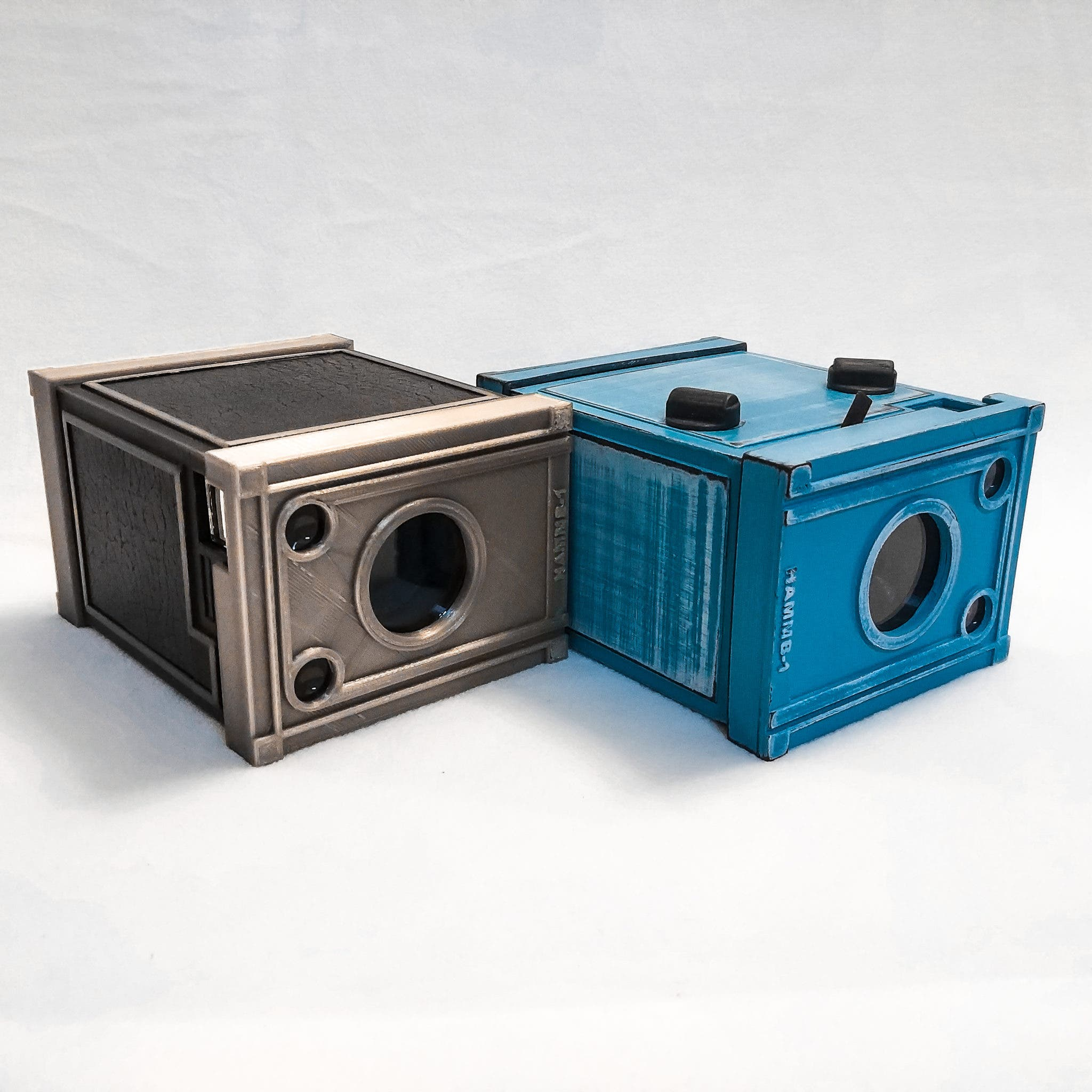 NuBox 1 is the World's First Interchangeable Lens Box Camera