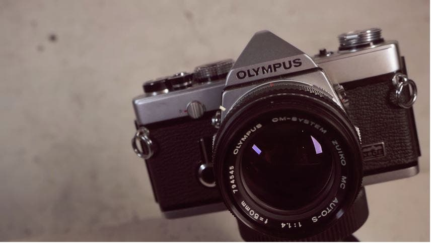 Why the Olympus OM-1 Remains One of the Best 35mm Film SLR cameras