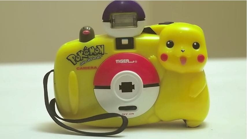 This Pokemon Camera Will Make Your Inner 90s Kid Swoon
