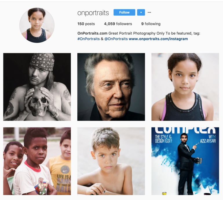 The 37 Best Portrait Photographers to Follow on Instagram
