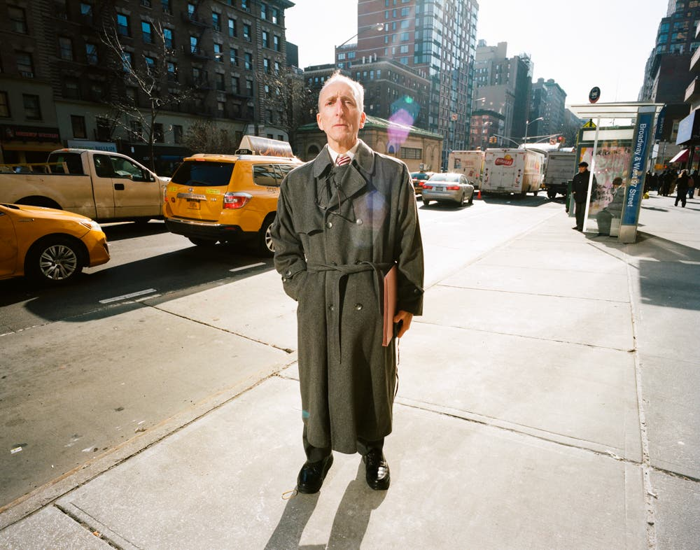 Nostalgic NYC Street Portraits on Film by Maxence Dedry
