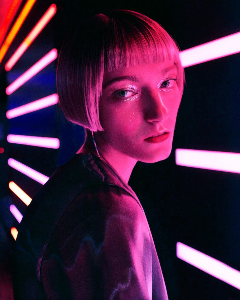 "Elizaveta Porodina's ""Neon Night"" is a Blade Runner-Inspired Masterpiece"