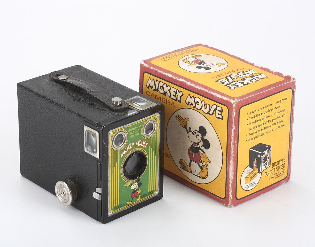 This Mickey Mouse Kodak Brownie is the Disney Camera of Your Dreams
