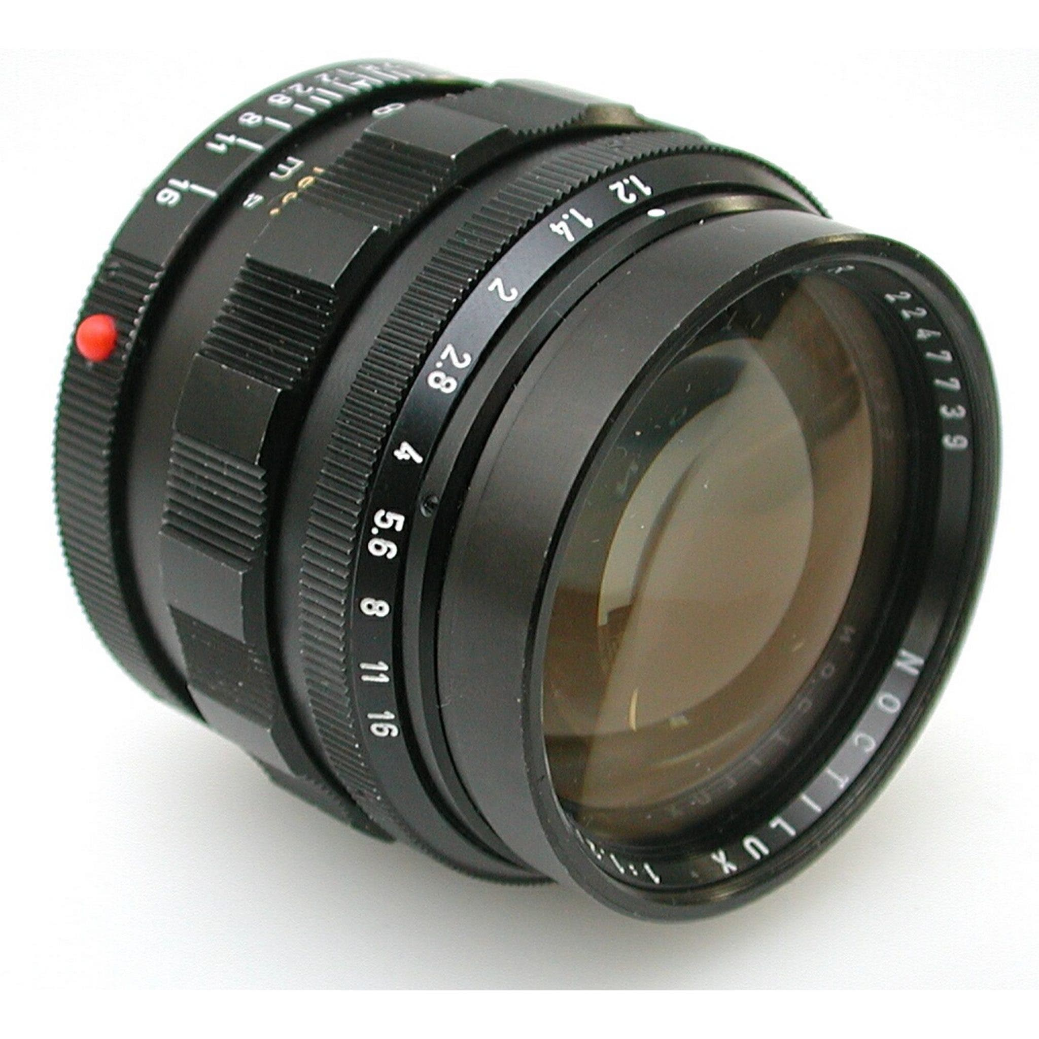 Guess How Much This Leitz 50mm f1.2 Noctilux Lens Sold For