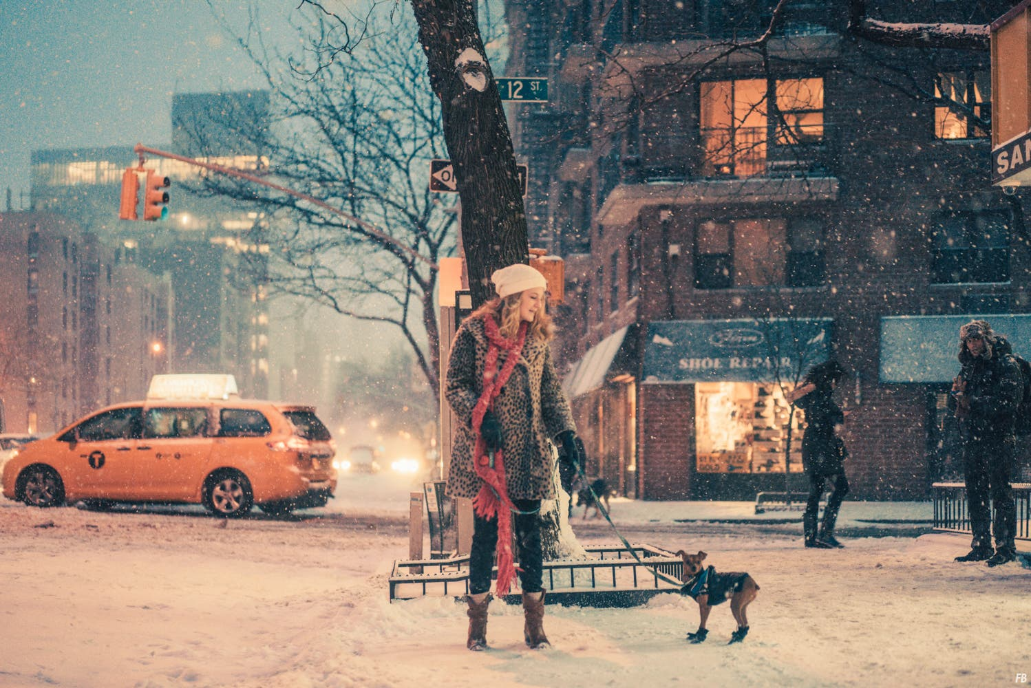 "Franck Bohbot Captures a Dreamy New York City in ""Velvet Snow"""