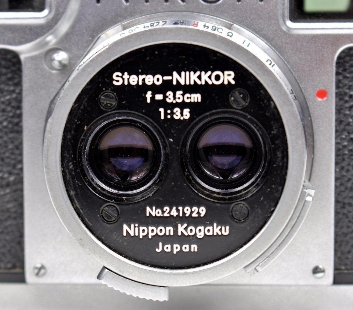 Be One of the 142 Owners of this Rare Stereo-Nikkor Lens