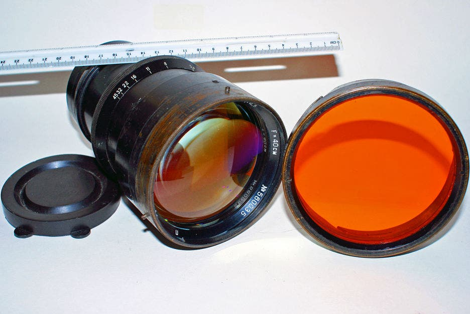 This Mysterious and Rare 400mm Military Lens is Yours for $99,995