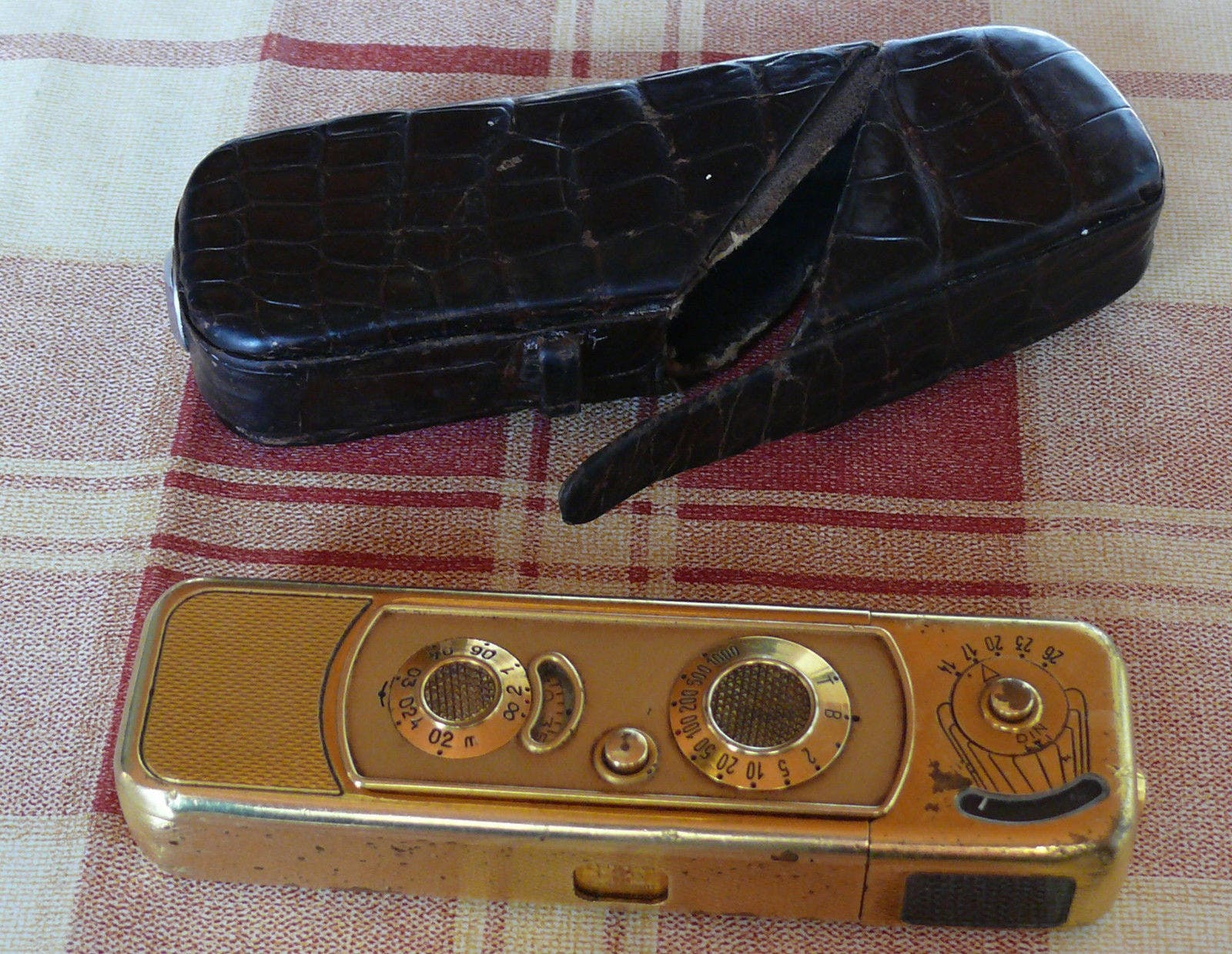 This Minox B Gold is a Luxury Spy Camera for Your Collection
