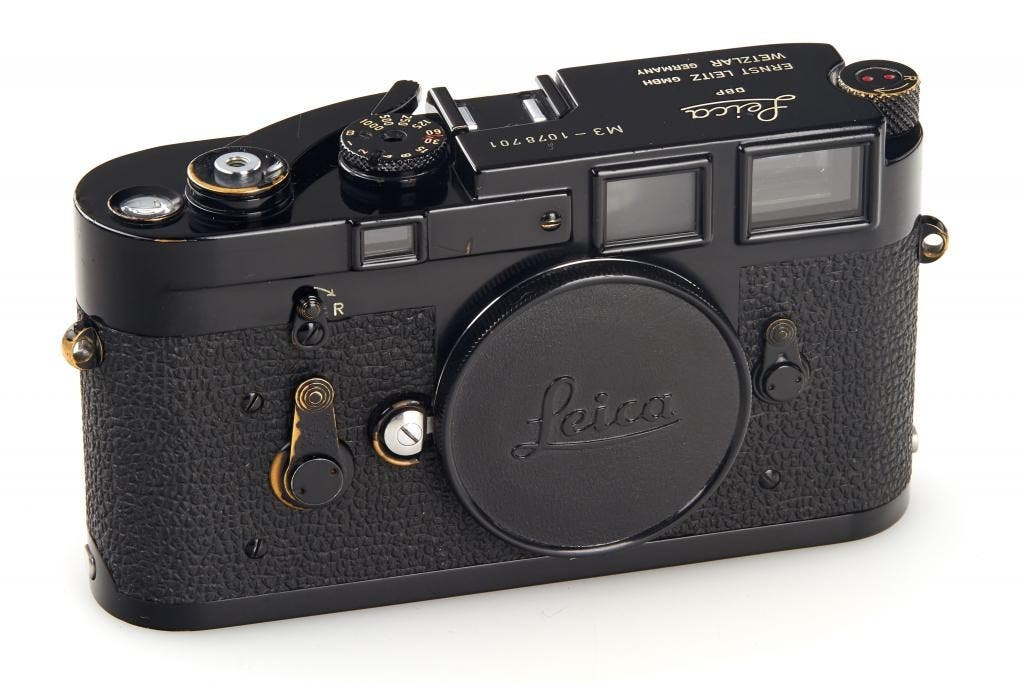 Here's Your Chance to Snag the Black Paint Leica M3 of Your Dreams