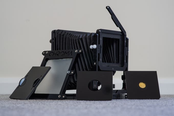 Chroma Camera is a Super Lightweight, Folding Large Format Camera