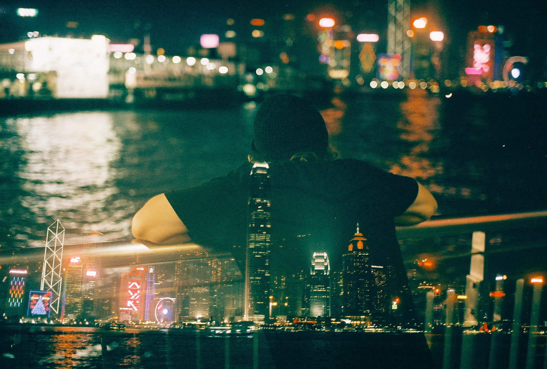 Louis Dazy Reimagines Hong Kong in Dreamy Double Exposures