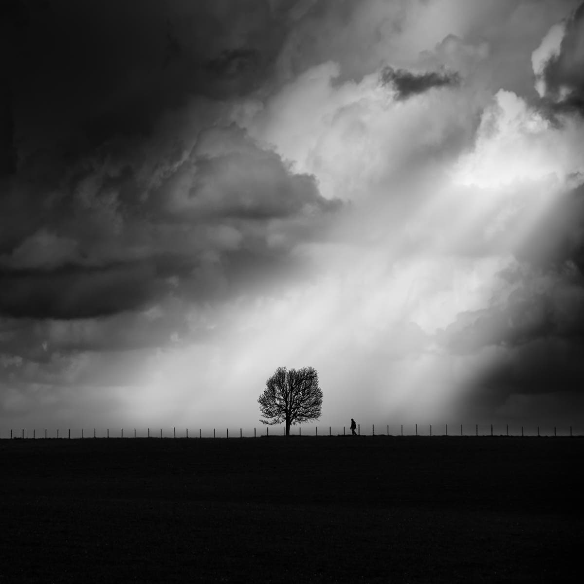 George Digalakis Showcases the Tranquil Allure of Minimalist Monochrome Landscapes