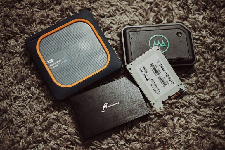 4 of the Best External Storage Drives for Photographers