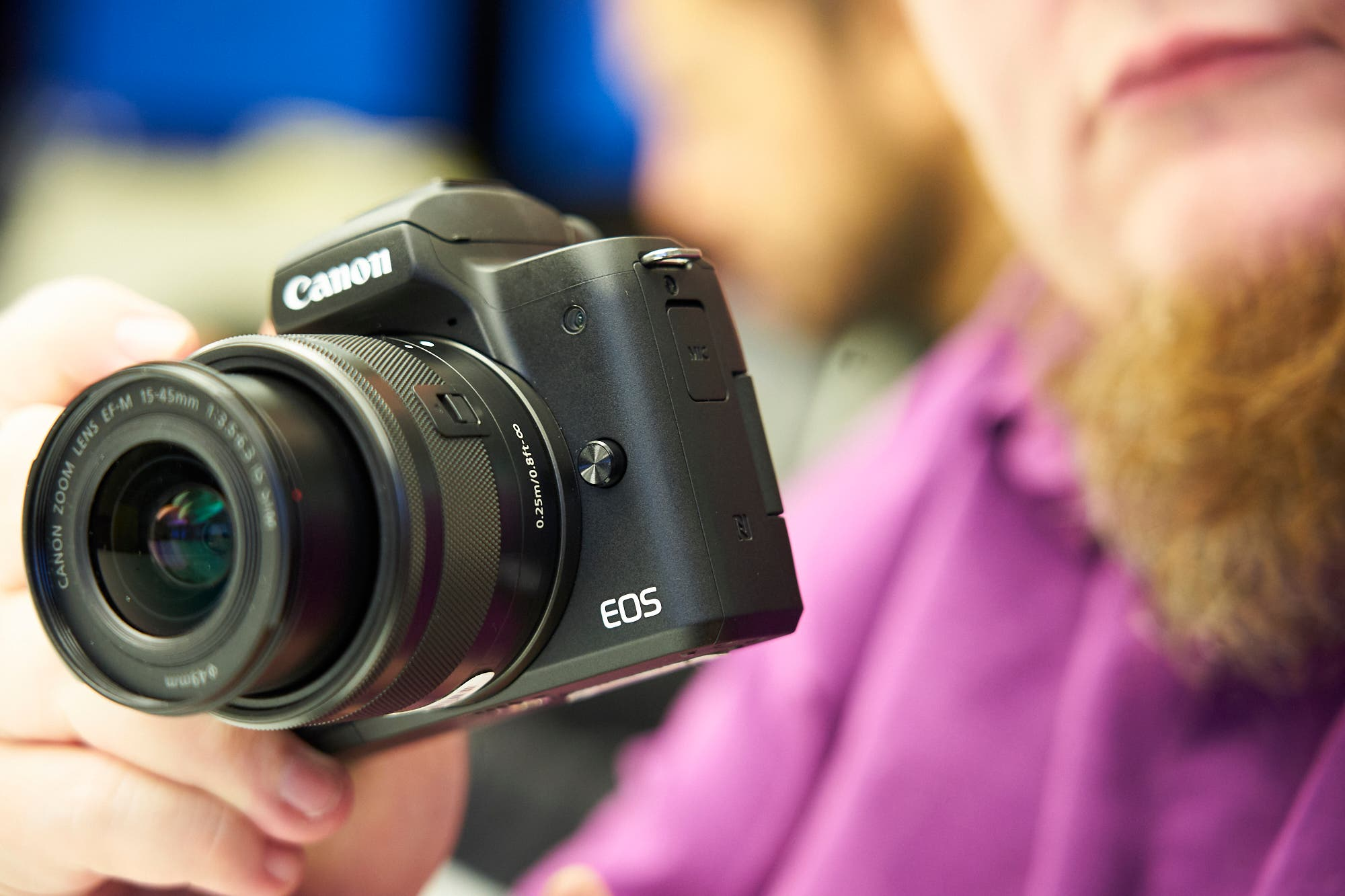 Canon's New M50 is a Bit More Exciting Than Their New Rebel T7