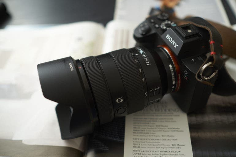 photography gear sony 24-105mm f4