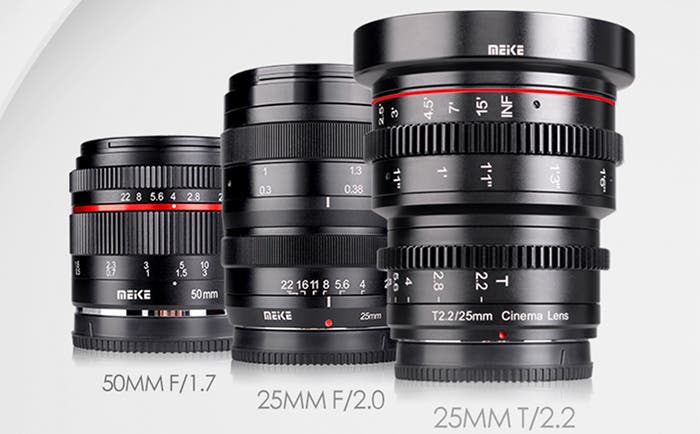 Meike Launches New 50mm and 25mm lenses for Mirrorless Systems