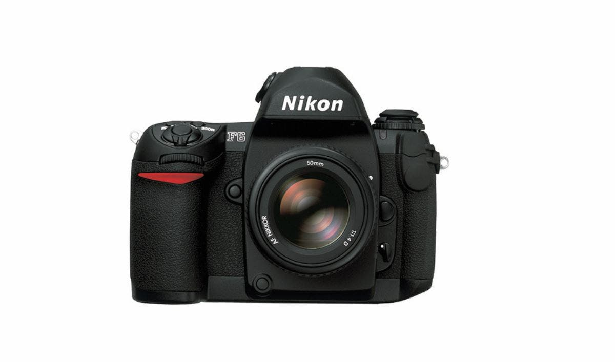 The Nikon F6 Film SLR Still Goes for Over $2,000 Brand New