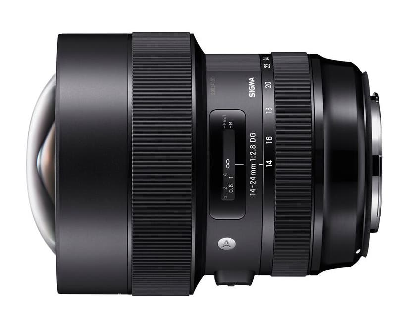 "The Sigma 14-24mm F2.8 DG HSM Art Lens Has ""Almost No Distortion"""
