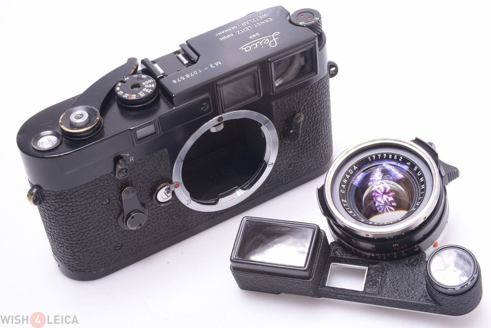 Here's Your Chance to Snag a Black Paint Leica M3 of Your Dreams