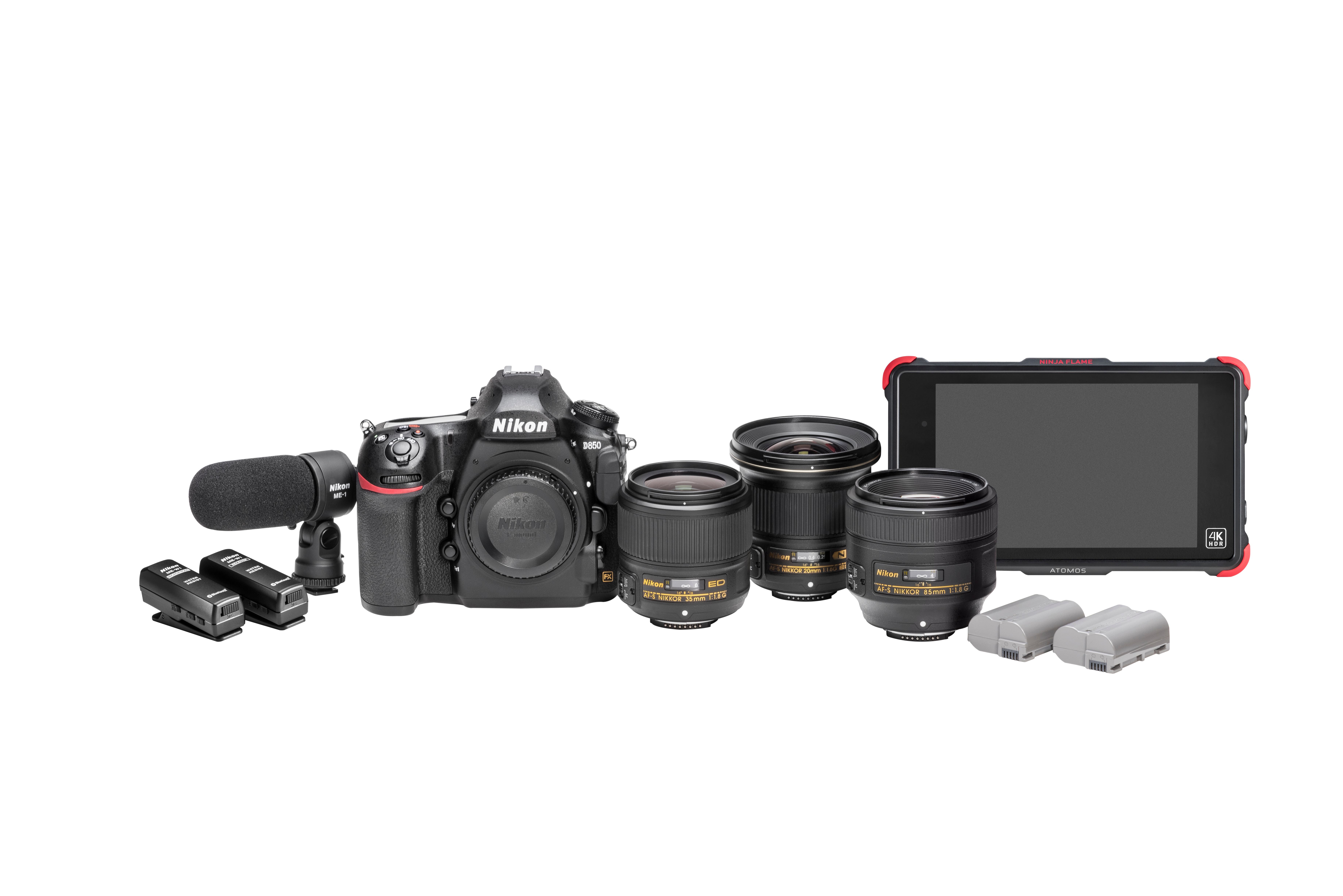The Nikon D850 Filmmaker's Kit Will Have Everything You Need for Serious Video