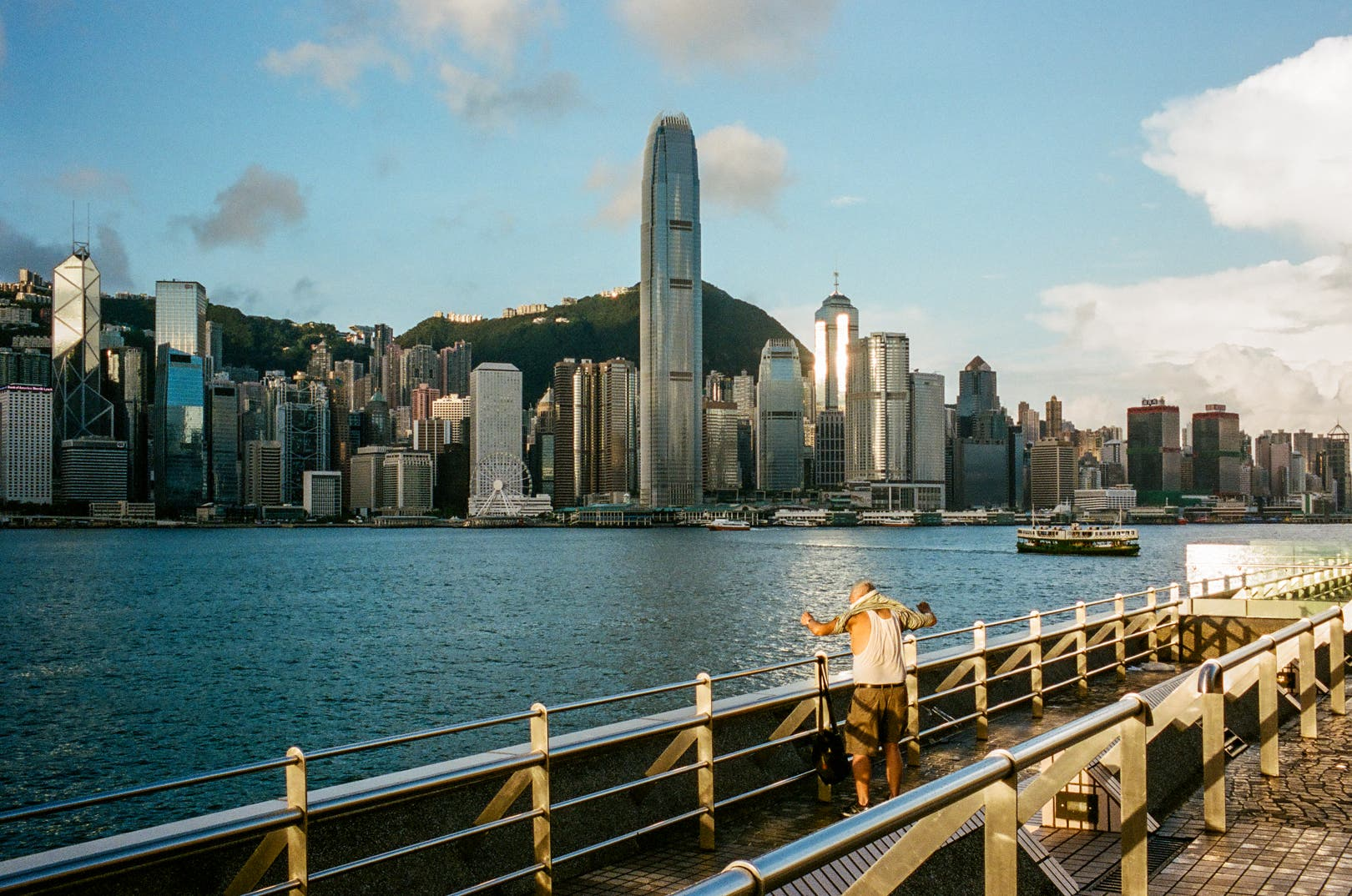 Wong Wei-Him Shares His Connection with Hong Kong's Iconic Harbor
