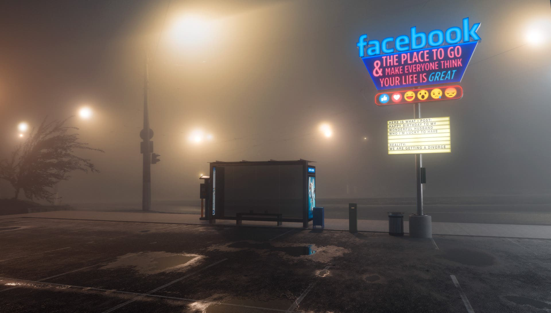 Mike Campau Explores the Anti-Social Realities of Social Media
