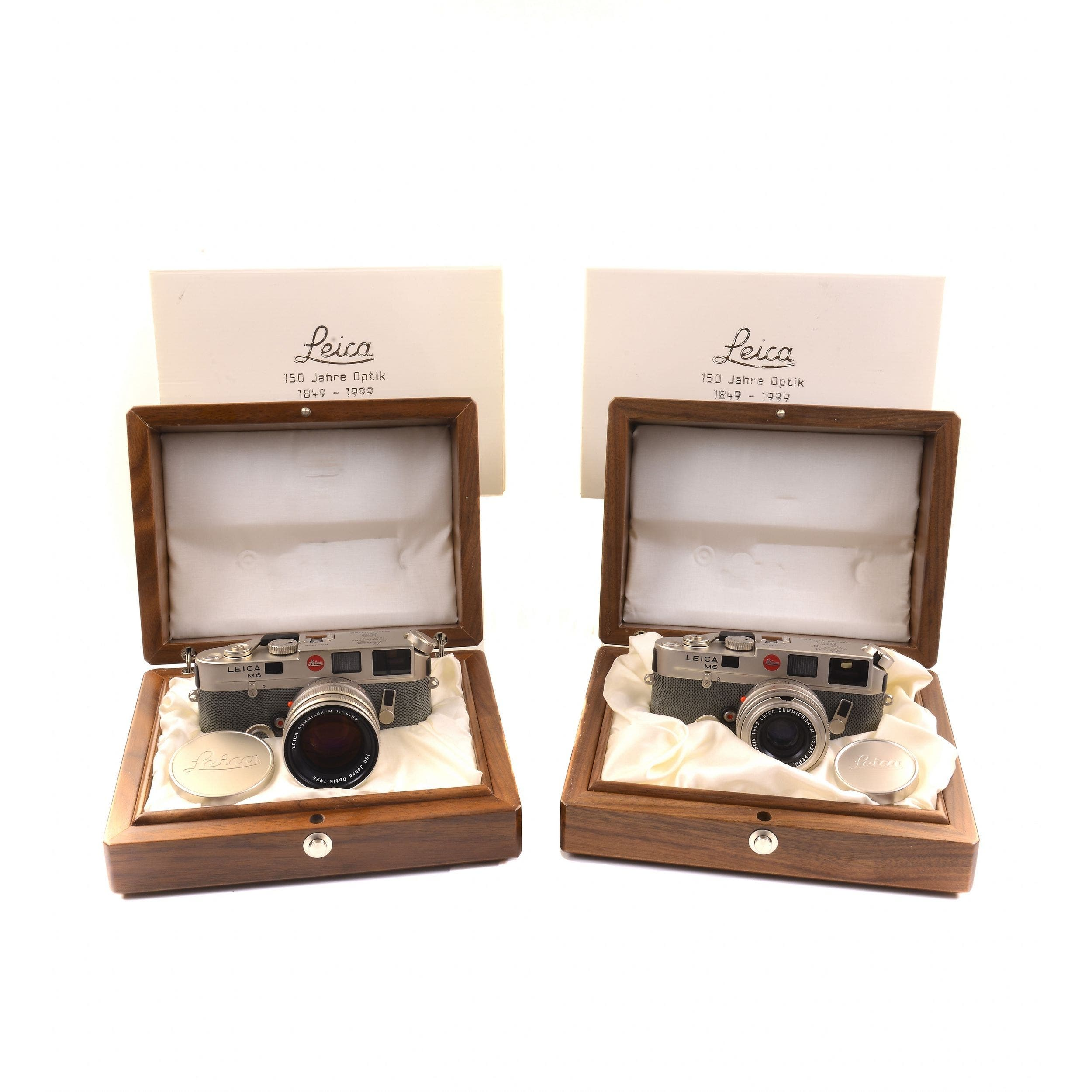 Two Limited Edition Leica M6 Platinum Cameras Currently Up for Grabs on ebay