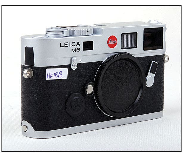 This Rare Leica M6 has a Hefty Price Tag for a Good Reason