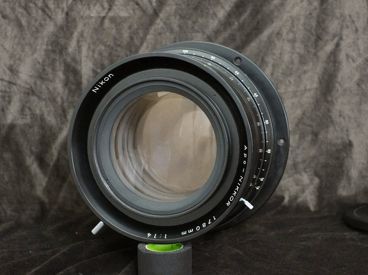 This Ultra Rare Apo Nikkor 1780mm f14 Lens is for Mammoth Photo Projects