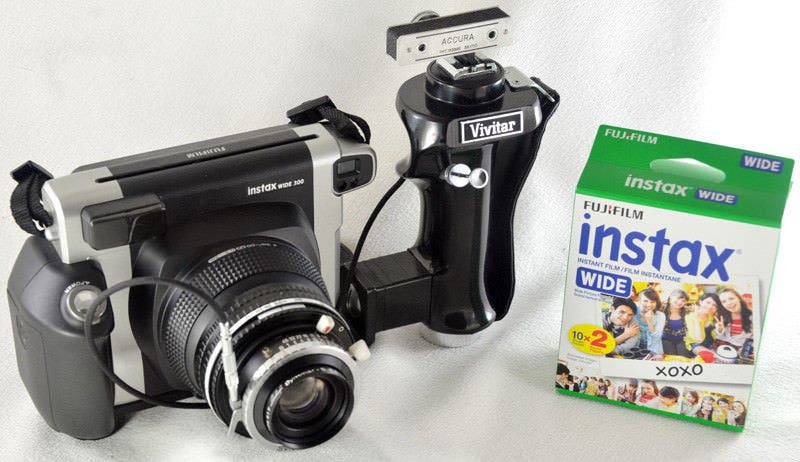 This Modified Instax Wide Camera is Perfect for Instant Portraits
