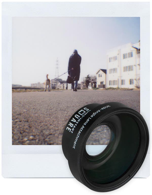 Lomo'Instant Square Gets New Wide Angle Glass Lens Attachment